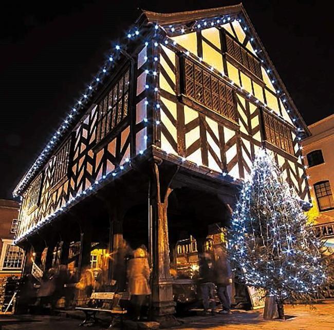 Christmas Shopping …. Ledbury Style