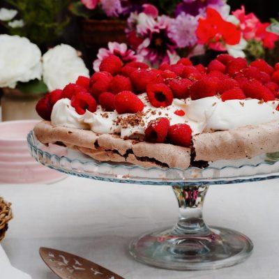 Chocolate & Raspberry Meringue